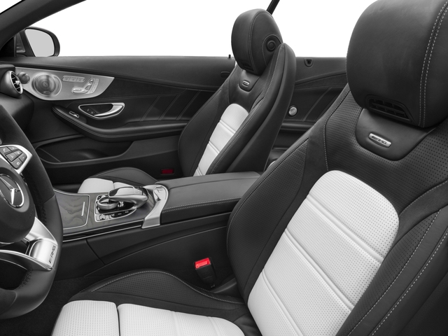 2017 Mercedes-Benz C-Class Base Price AMG C 63 Cabriolet Pricing front seat interior
