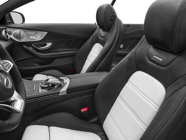 2017 Mercedes-Benz C-Class Pictures C-Class Convertible 2D C63 AMG V6 Turbo photos front seat interior