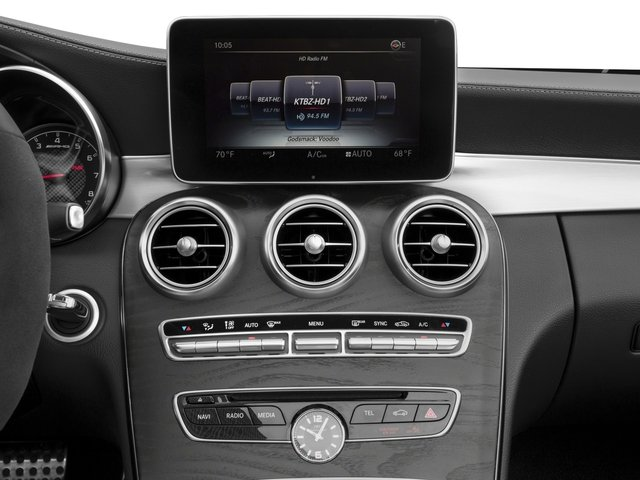 2017 Mercedes-Benz C-Class Prices and Values Convertible 2D C63 AMG V6 Turbo stereo system