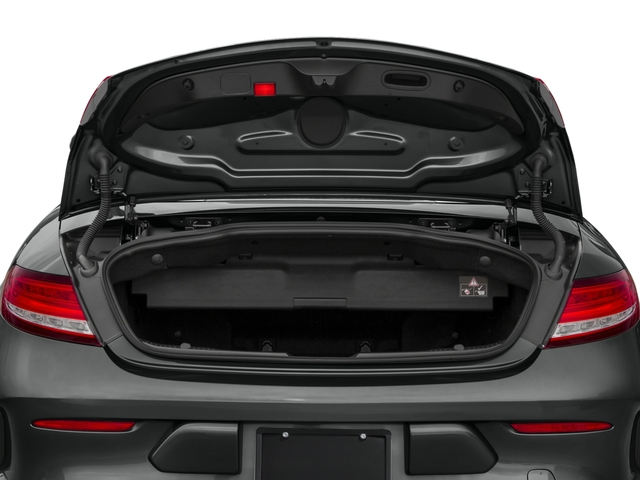 2017 Mercedes-Benz C-Class Prices and Values Convertible 2D C63 AMG V6 Turbo open trunk