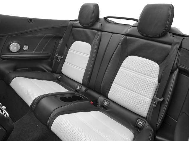 2017 Mercedes-Benz C-Class Prices and Values Convertible 2D C63 AMG V6 Turbo backseat interior