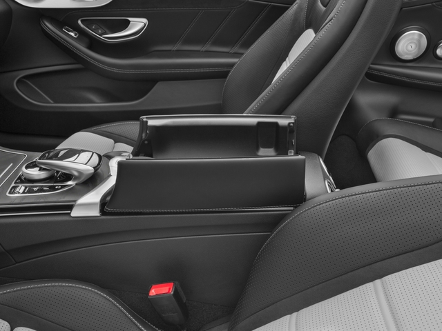 2017 Mercedes-Benz C-Class Base Price AMG C 63 Cabriolet Pricing center storage console