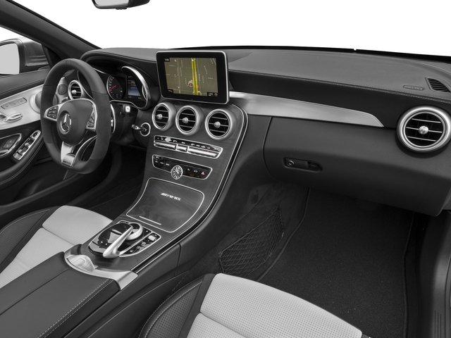2017 Mercedes-Benz C-Class Prices and Values Convertible 2D C63 AMG V6 Turbo passenger's dashboard