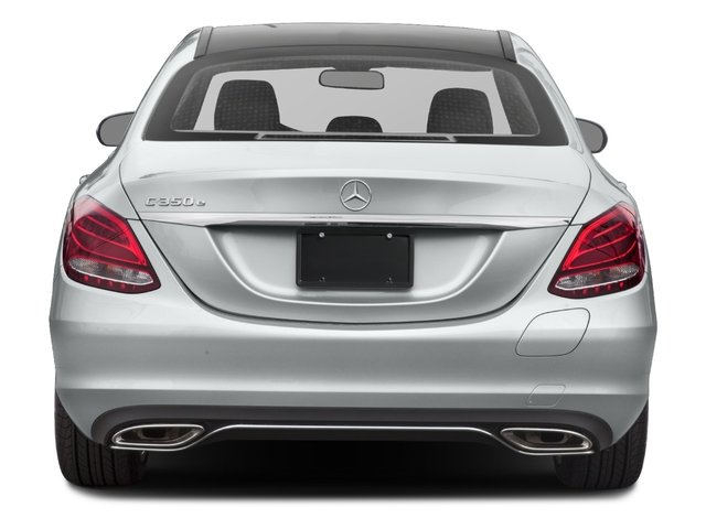 2017 Mercedes-Benz C-Class Pictures C-Class C 350e Sedan photos rear view
