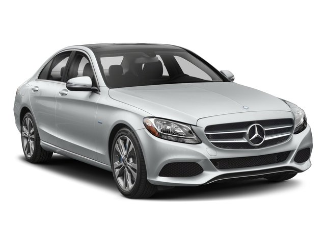 2017 Mercedes-Benz C-Class Pictures C-Class Sedan 4D C350e I4 Turbo Electric photos side front view