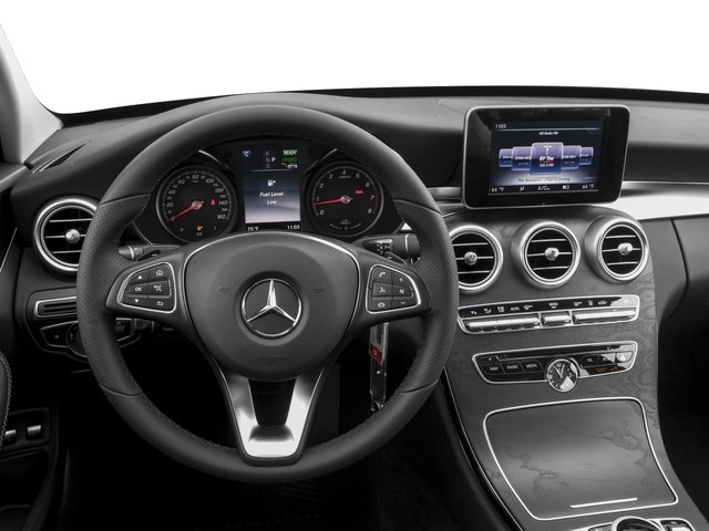 2017 Mercedes-Benz C-Class Prices and Values Sedan 4D C350e I4 Turbo Electric driver's dashboard