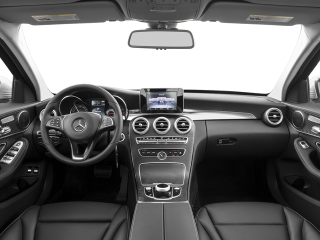 2017 Mercedes-Benz C-Class Pictures C-Class C 350e Sedan photos full dashboard