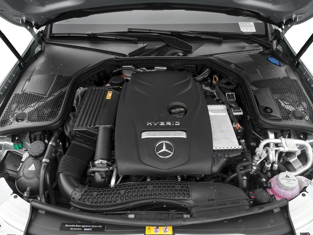 2017 Mercedes-Benz C-Class Pictures C-Class C 350e Sedan photos engine