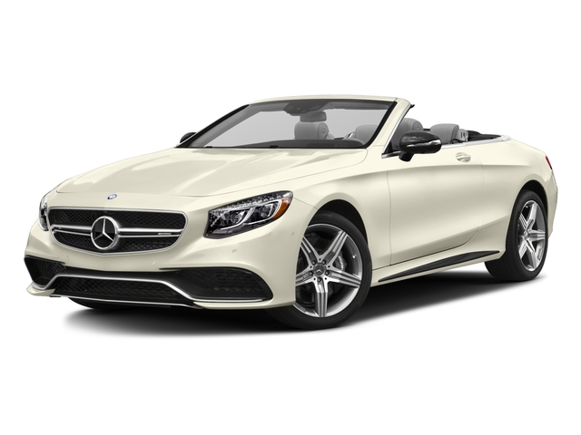 2017 Mercedes-Benz S-Class Pictures S-Class AMG S 63 4MATIC Cabriolet photos side front view