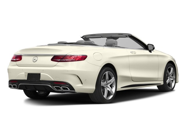 2017 Mercedes-Benz S-Class Pictures S-Class AMG S 63 4MATIC Cabriolet photos side rear view