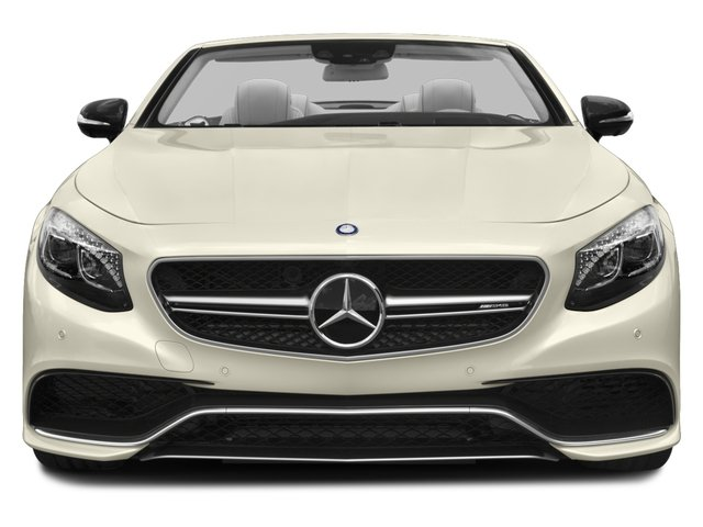 2017 Mercedes-Benz S-Class Pictures S-Class AMG S 63 4MATIC Cabriolet photos front view