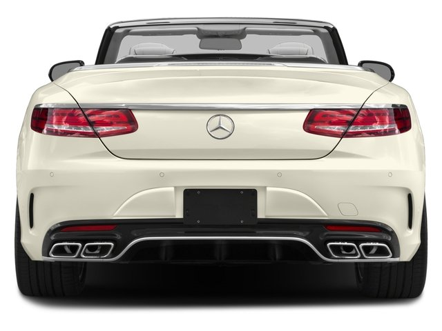 2017 Mercedes-Benz S-Class Prices and Values Convertible 2D S63 AMG AWD V8 Turbo rear view