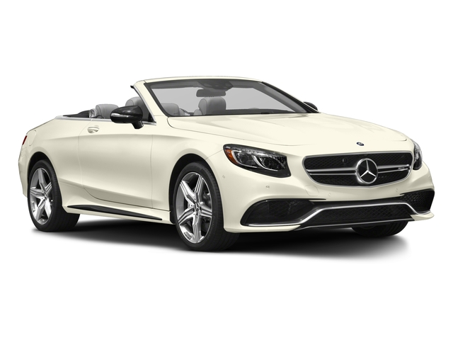 2017 Mercedes-Benz S-Class Prices and Values Convertible 2D S63 AMG AWD V8 Turbo side front view
