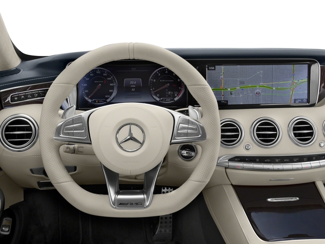 2017 Mercedes-Benz S-Class Prices and Values Convertible 2D S63 AMG AWD V8 Turbo driver's dashboard