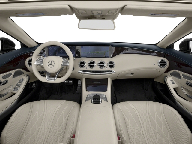 2017 Mercedes-Benz S-Class Pictures S-Class AMG S 63 4MATIC Cabriolet photos full dashboard
