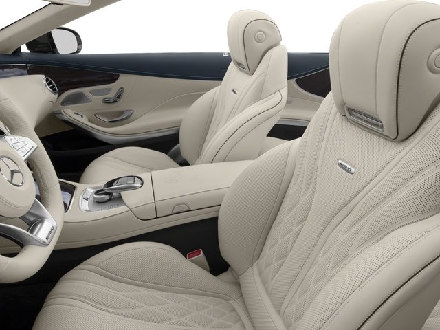 2017 Mercedes-Benz S-Class Pictures S-Class AMG S 63 4MATIC Cabriolet photos front seat interior