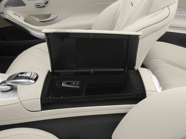 2017 Mercedes-Benz S-Class Prices and Values Convertible 2D S63 AMG AWD V8 Turbo center storage console