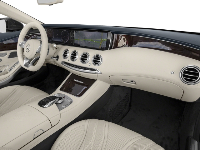 2017 Mercedes-Benz S-Class Prices and Values Convertible 2D S63 AMG AWD V8 Turbo passenger's dashboard