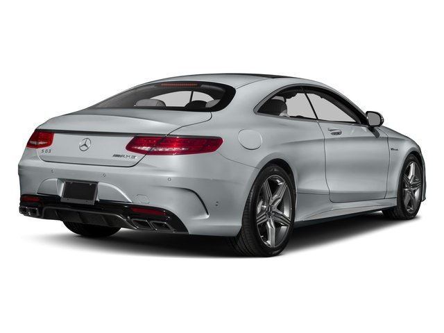 2017 Mercedes-Benz S-Class Pictures S-Class AMG S 63 4MATIC Coupe photos side rear view