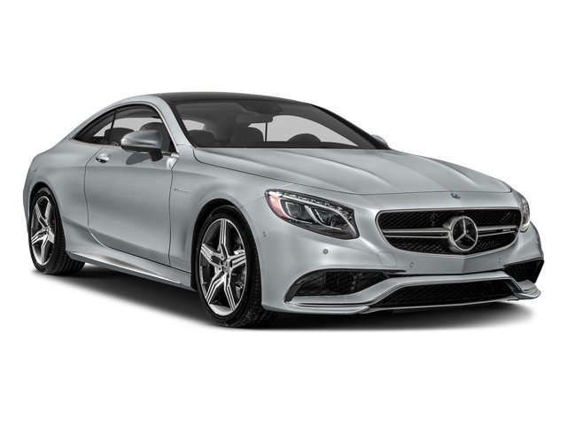 2017 Mercedes-Benz S-Class Prices and Values Coupe 2D S63 AMG AWD V8 Turbo side front view