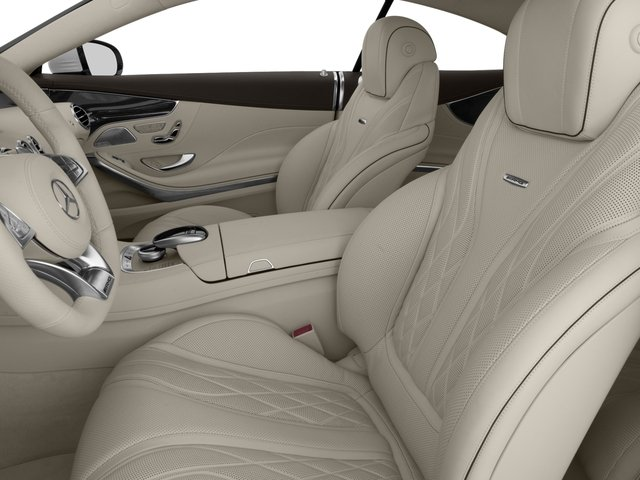 2017 Mercedes-Benz S-Class Prices and Values Coupe 2D S63 AMG AWD V8 Turbo front seat interior