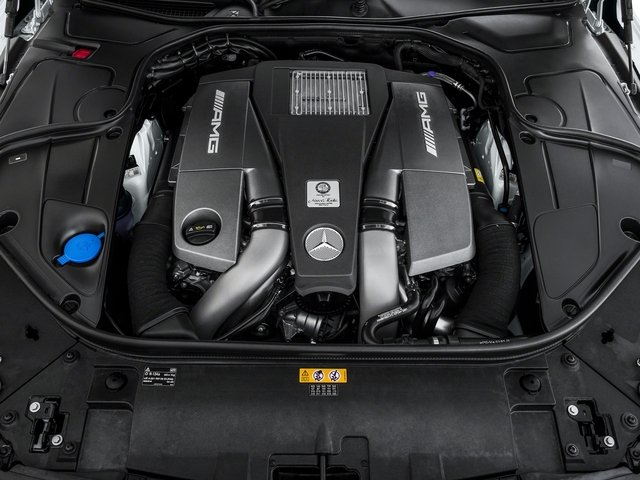 2017 Mercedes-Benz S-Class Pictures S-Class AMG S 63 4MATIC Coupe photos engine