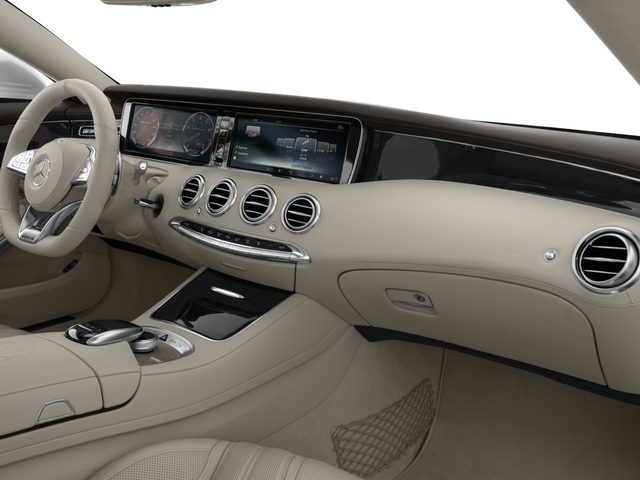 2017 Mercedes-Benz S-Class Prices and Values Coupe 2D S63 AMG AWD V8 Turbo passenger's dashboard