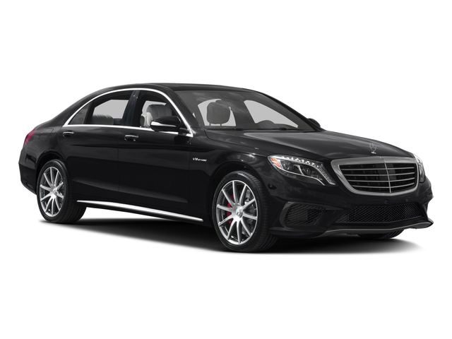 2017 Mercedes-Benz S-Class Prices and Values Sedan 4D S63 AMG AWD V8 Turbo side front view