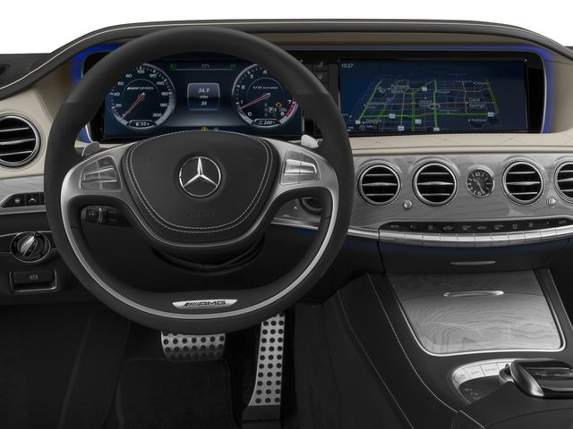 2017 Mercedes-Benz S-Class Prices and Values Sedan 4D S63 AMG AWD V8 Turbo driver's dashboard