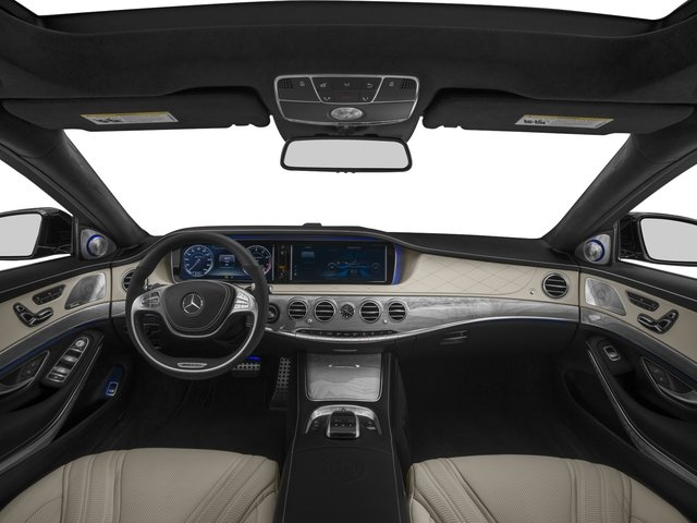 2017 Mercedes-Benz S-Class Prices and Values Sedan 4D S63 AMG AWD V8 Turbo full dashboard