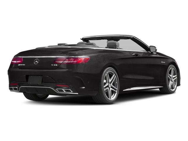 2017 Mercedes-Benz S-Class Base Price AMG S 65 Cabriolet Pricing side rear view