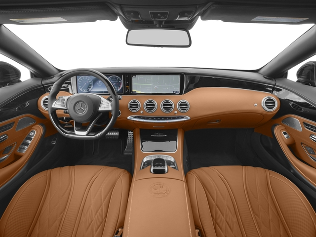 2017 Mercedes-Benz S-Class Base Price AMG S 65 Cabriolet Pricing full dashboard