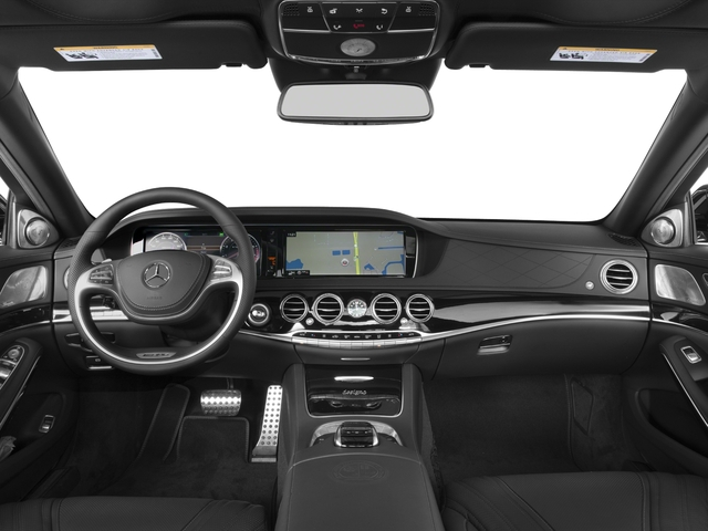 2017 Mercedes-Benz S-Class Pictures S-Class 4 Door Sedan photos full dashboard