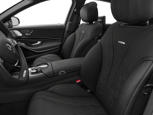 2017 Mercedes-Benz S-Class Pictures S-Class 4 Door Sedan photos front seat interior