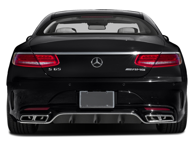 2017 Mercedes-Benz S-Class Pictures S-Class 2 Door Coupe photos rear view