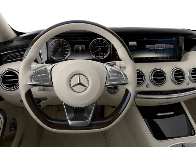 2017 Mercedes-Benz S-Class Pictures S-Class 2 Door Coupe photos driver's dashboard