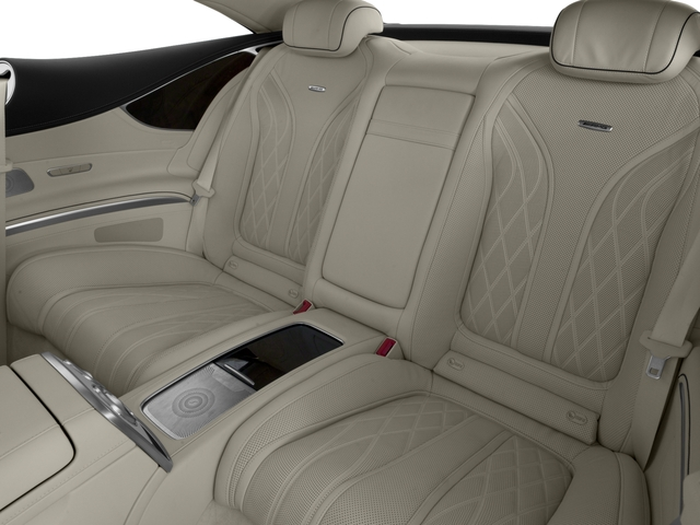 2017 Mercedes-Benz S-Class Pictures S-Class 2 Door Coupe photos backseat interior