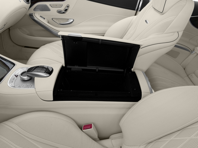 2017 Mercedes-Benz S-Class Pictures S-Class 2 Door Coupe photos center storage console