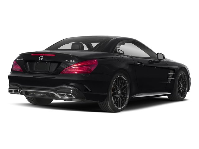 2017 Mercedes-Benz SL Prices and Values 2 Door Roadster side rear view