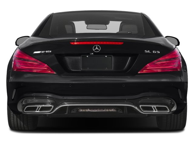 2017 Mercedes-Benz SL Prices and Values 2 Door Roadster rear view