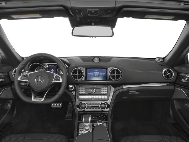 2017 Mercedes-Benz SL Prices and Values 2 Door Roadster full dashboard