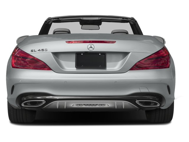 2017 Mercedes-Benz SL Base Price SL 450 Roadster Pricing rear view