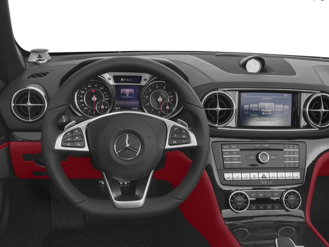 2017 Mercedes-Benz SL Base Price SL 450 Roadster Pricing driver's dashboard