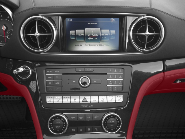 2017 Mercedes-Benz SL Base Price SL 450 Roadster Pricing stereo system
