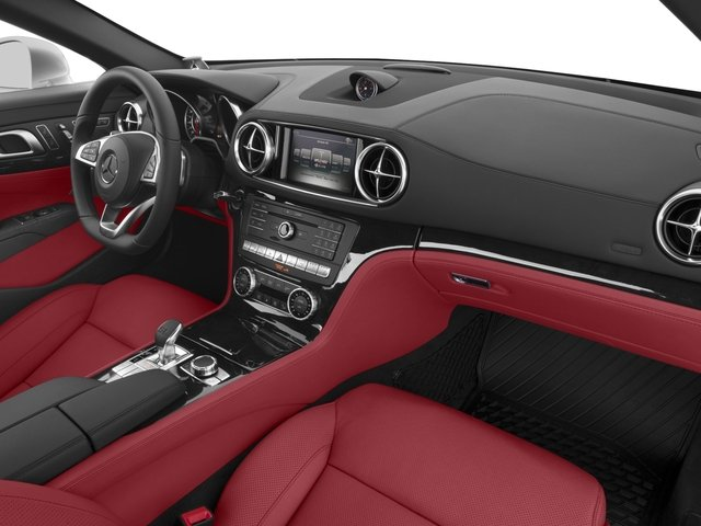 2017 Mercedes-Benz SL Base Price SL 450 Roadster Pricing passenger's dashboard