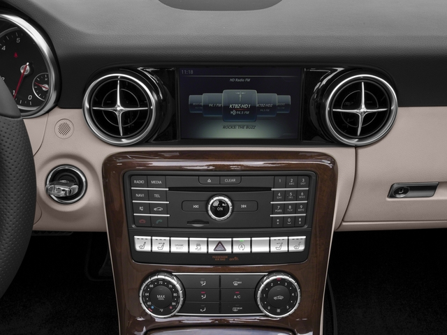 2017 Mercedes-Benz SLC Pictures SLC Roadster 2D SLC300 I4 Turbo photos stereo system