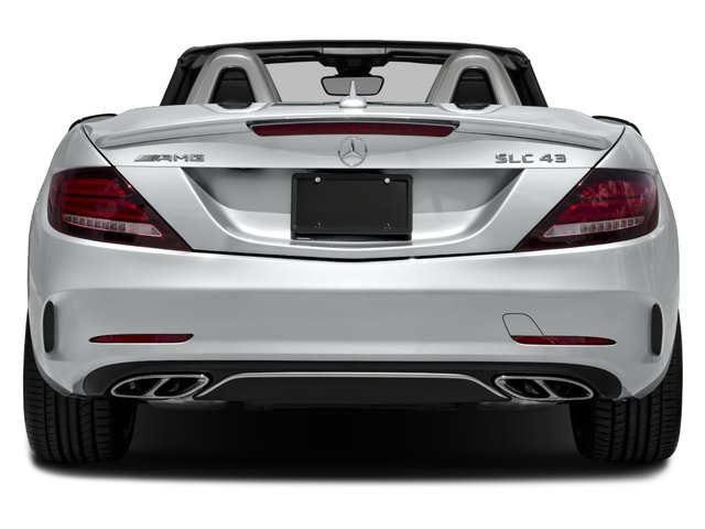 2017 Mercedes-Benz SLC Base Price AMG SLC 43 Roadster Pricing rear view
