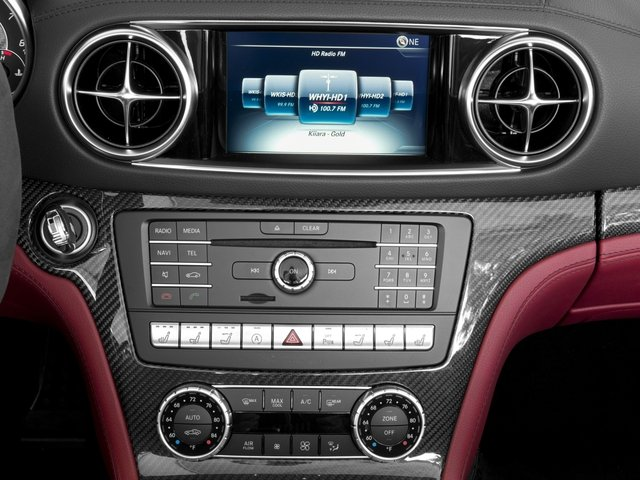 2017 Mercedes-Benz SL Prices and Values Roadster 2D SL63 AMG V8 Turbo stereo system