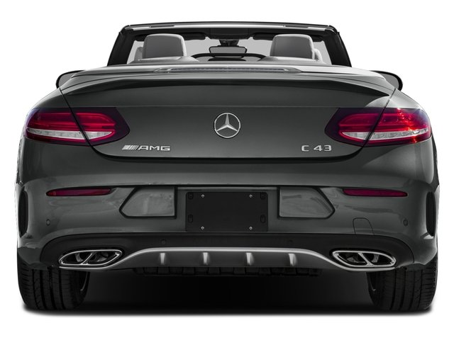 2017 Mercedes-Benz C-Class Pictures C-Class AMG C 43 4MATIC Cabriolet photos rear view