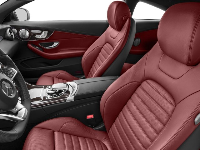 2017 Mercedes-Benz C-Class Prices and Values Coupe 2D C43 AMG AWD V6 Turbo front seat interior